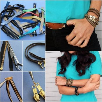 Creative Zipper Bracelet – DIY