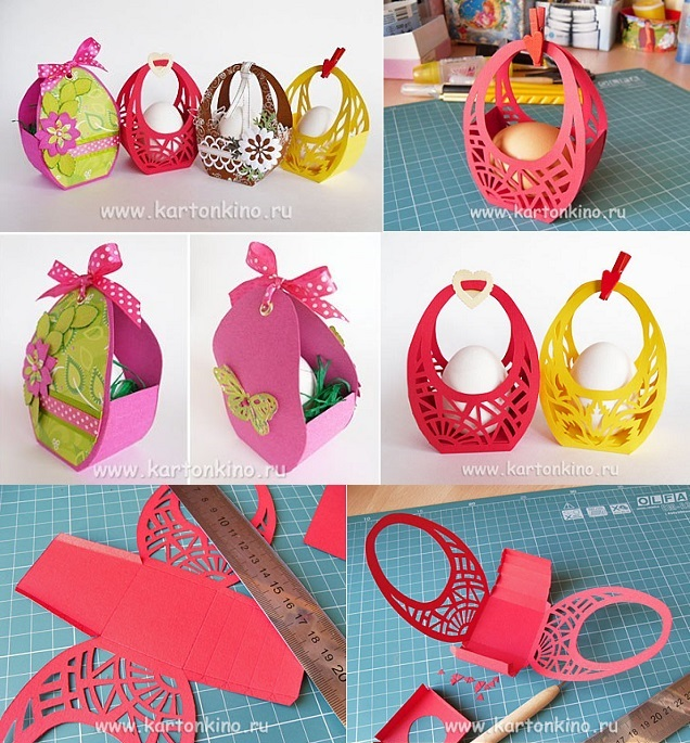 Easter baskets diy alldaychic negle Image collections