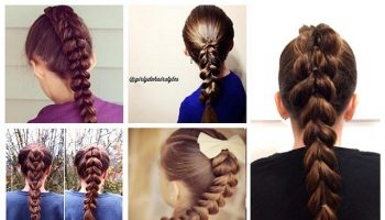 Gorgeous and Easy Pull-Through Braid (2)
