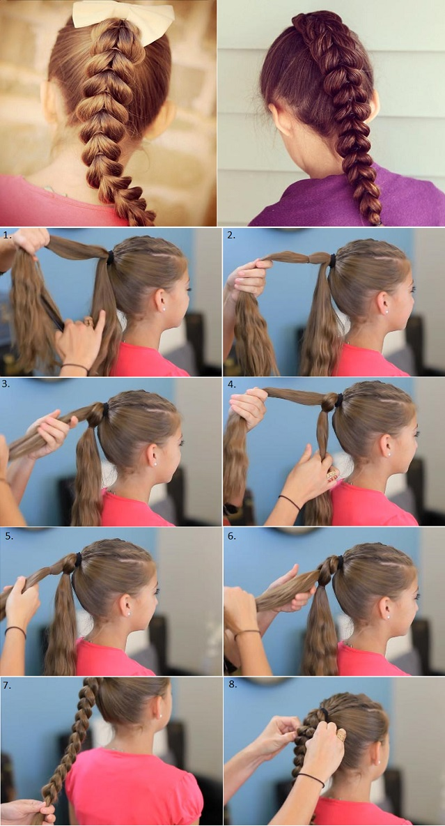 Gorgeous and Easy Pull-Through Braid