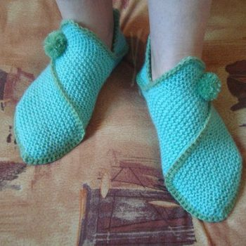 Home Slippers – DIY (3)
