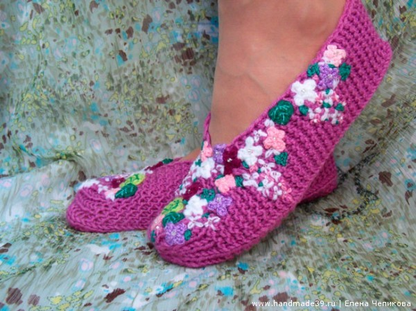 Knitted-Slippers-Lilac-600x449