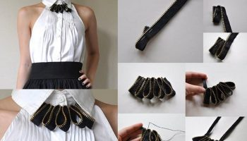 Lovely Zipper Necklace – DIY