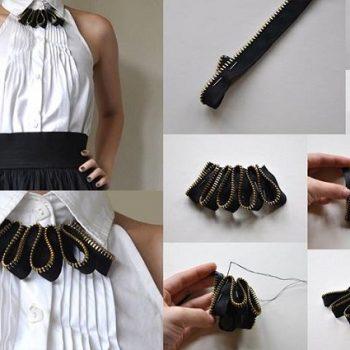 Lovely Zipper Necklace – DIY