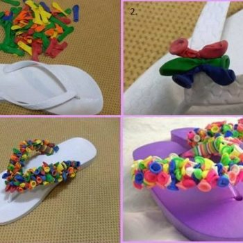 Pretty Hawaiians With Balloons – DIY