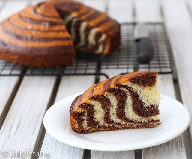 Learn How To Make Your Own Homemade Zebra Cake Alldaychic