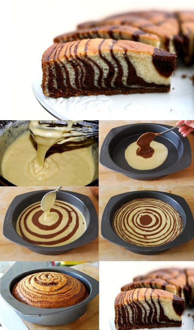cake in a mug rum cake i ou encore le zebra cake version of the zebra ...