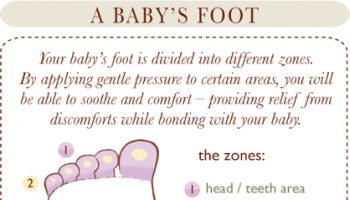 Baby's Foot Massage Chart