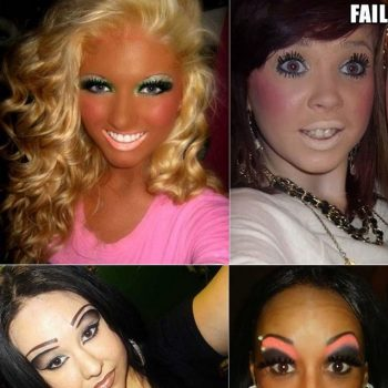 Epic Make-up Fails (3)