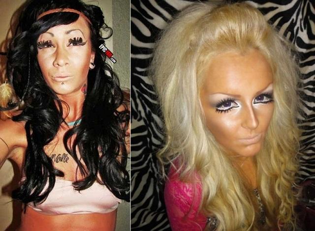 Epic Make-up Fails