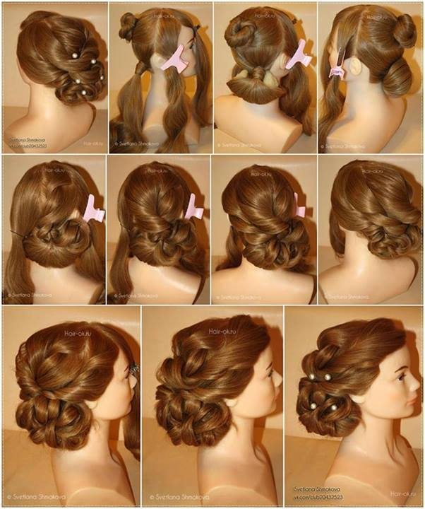 Evening Hairstyle Tutorial Alldaychic