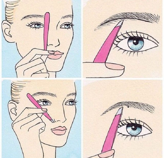 How To Shape Your Eyebrows Step By Step Guide Alldaychic