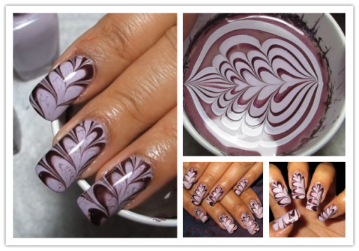 Marble nail art tutorial alldaychic prinsesfo Image collections
