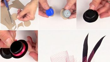 Lovely Hair Accessories from Bottle Caps – DIY