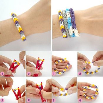 Rubber Band Bracelets – DIY