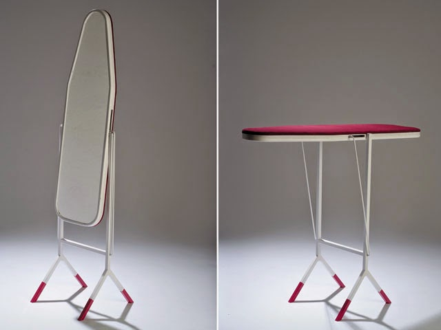 2 in 1 Ironing Board and Mirror (2)