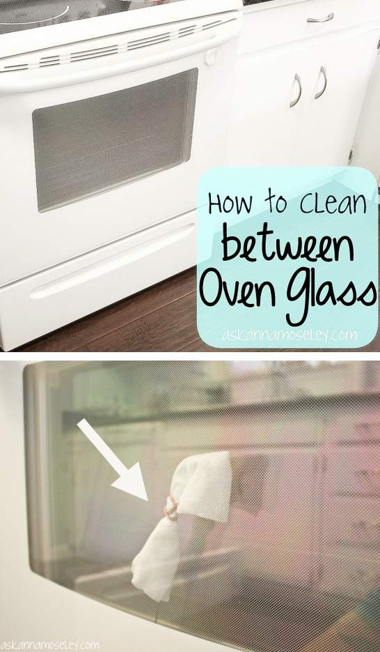 Cleaning Tips & Tricks-Cleaning Between Oven Glass