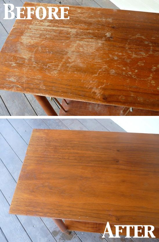 Cleaning Tips & Tricks-Fix Scratches On Wood