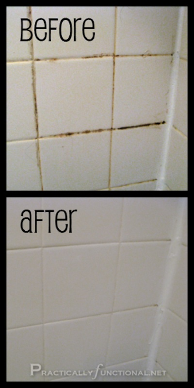 Cleaning Tips & Tricks-Homemade Grout Cleaner
