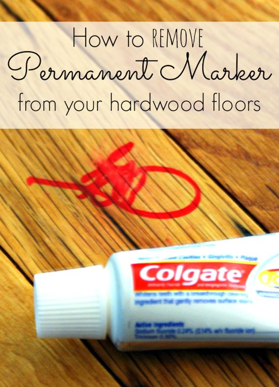 Cleaning Tips & Tricks- Permanent Marker Removal