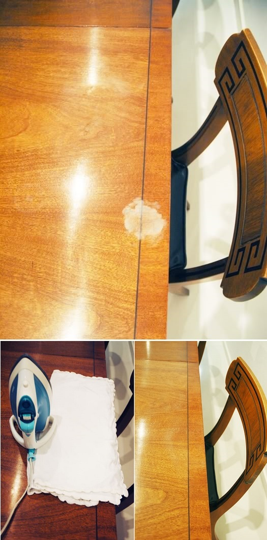 Cleaning Tips & Tricks-Removing White Marks On Furniture