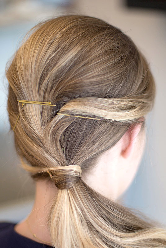 Creative Ways to Use Bobby Pins 16