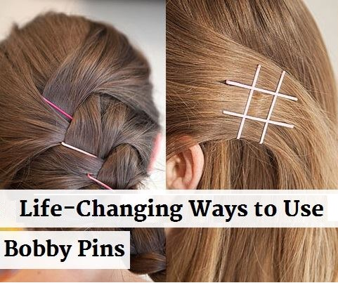 Creative Ways to Use Bobby Pins