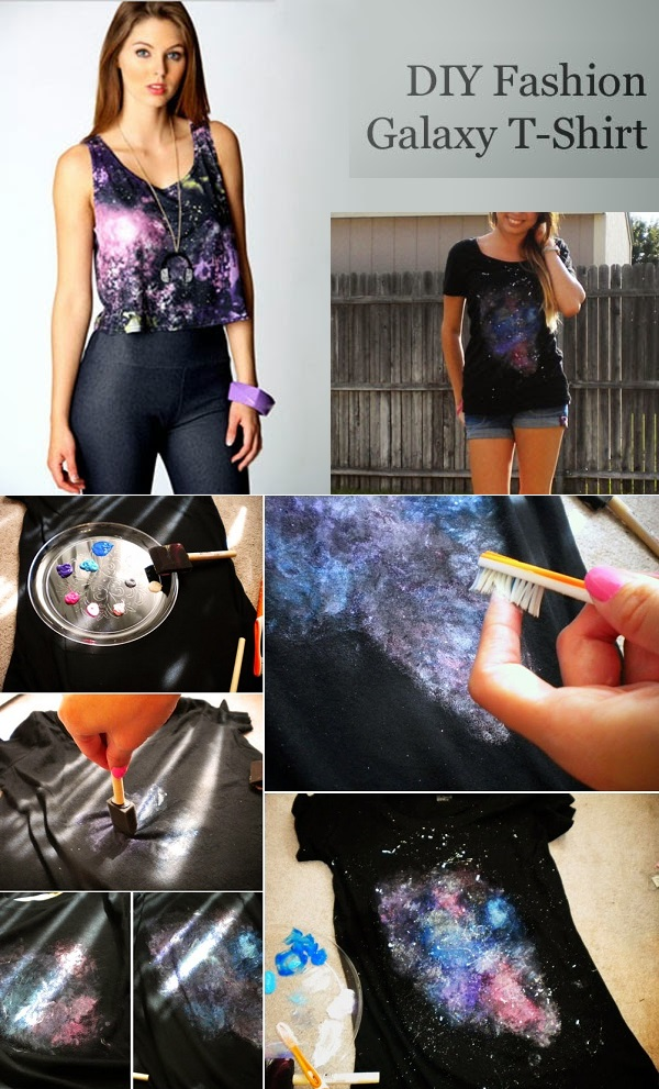DIY-Fashion-Painted-Galaxy-T-Shirt