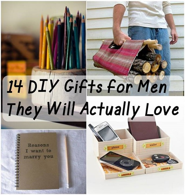 DIY Gifts Your Man Would Love To Receive