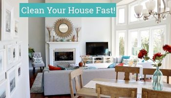 How To Fake A Clean House When Last Minute Visitors Announce They're Coming