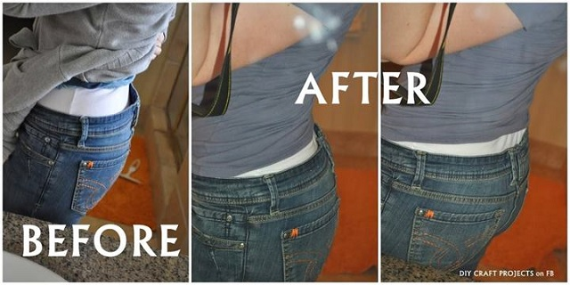How to Fix Loose Jeans