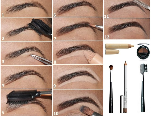 Shape Your Eyebrows Perfectly Alldaychic