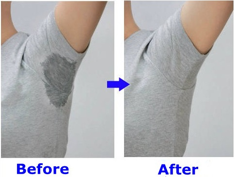 How to protect clothes from sweat stains alldaychic for Sweat stains on shirt