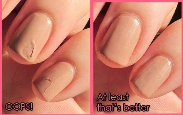 Idea To Fix A Smudged Nail