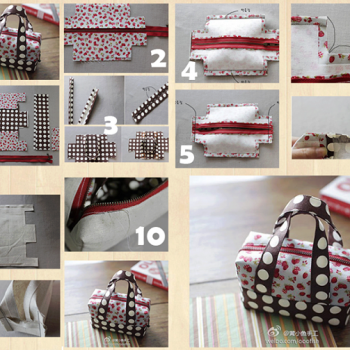 Mini Fabric Tote – DIY