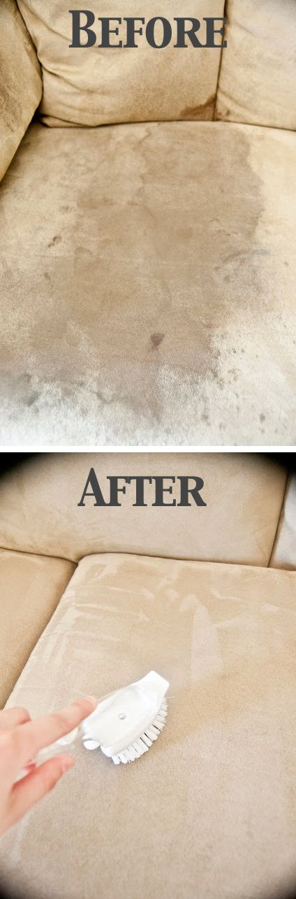 Must-Read Cleaning Tips & Tricks-How To Clean A Microfiber Couch