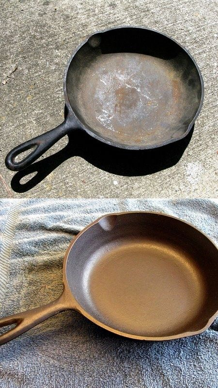 Read Cleaning Tips & Tricks- Reconditioning Cast Iron
