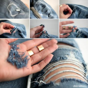 Ripped Jeans – DIY