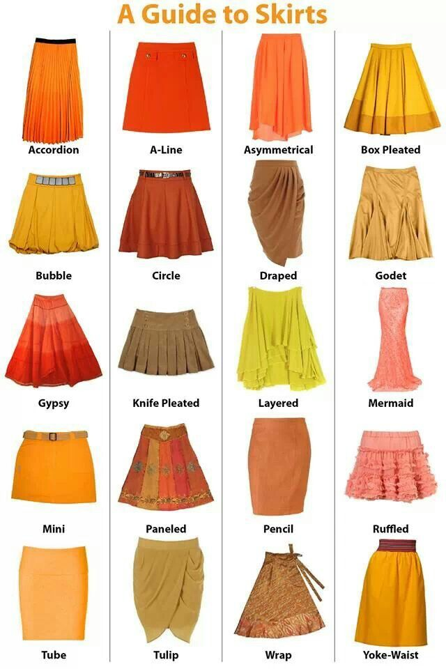Guide To Skirts