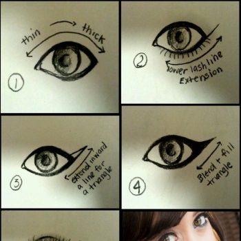 The Easiest Cat Eye Tutorial