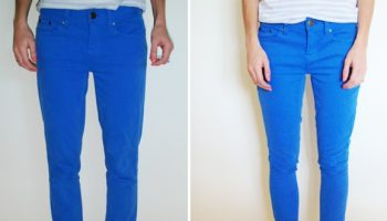 Turn Straight Jeans into Skinny Jeans – DIY