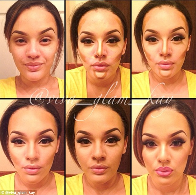 How to Highlight and Contour for a Perfect Makeup - AllDayChic