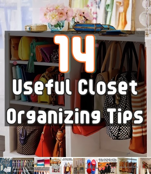 Smart closet organizing ideas alldaychic for Ideas to organize closets