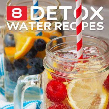 8 Detox Water Recipes for Optimal Health
