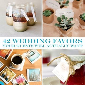 Awesome Wedding Favors Your Guest Will Adore