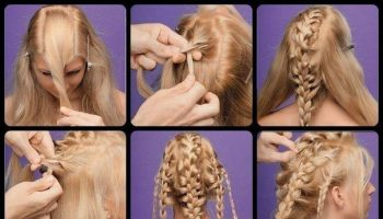 Beautiful Braided Hairstyle You Can Make by Yourself