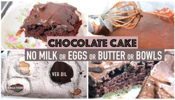Chocolate Cake Delight – No Butter, Eggs, Milk or Bowls Needed