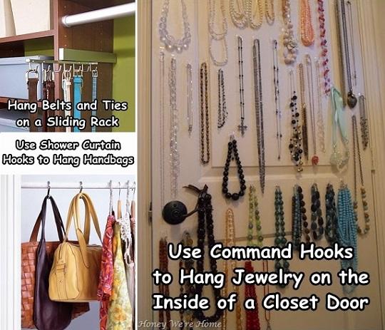 Diy Closet Organizing Idea 5