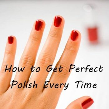 Get Perfect Polish Every Time With This Simple Trick