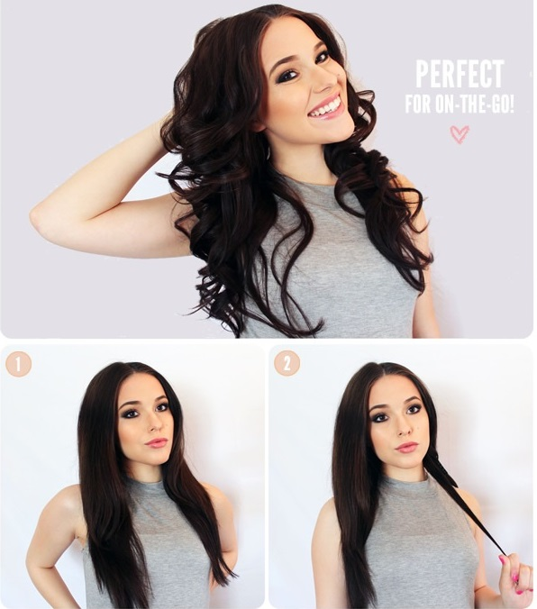 How To Make Hair Waves Without Heat Damaging Alldaychic